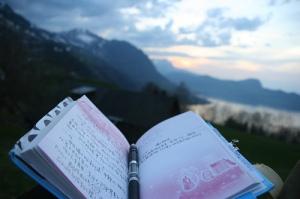 Diary mountains
